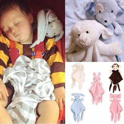 Personalised Security Super Soft Baby Comforter Engraved Snuggle Blanket Gift