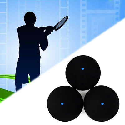 PROFESSIONAL ONE BLUE DOT RUBBER SQUASH BALL TRAINING COMPETITION ACCESSORY Atom