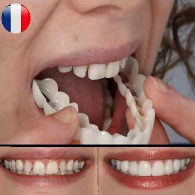 Silicone Protection Simulation Dent Blanche Blanchiment Dentaire Maquillage Mode