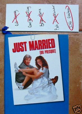 DOSSIER DE PRESSE - JUST MARRIED (OU PRESQUE) - Richard GERE / Julia ROBERTS