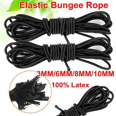Ropes, Cords & Slings 6mm Luminous Yellow Elastic Bungee Rope Shock Cord Tieroof Racks Trailers 100% High Quality Materials Boat Parts
