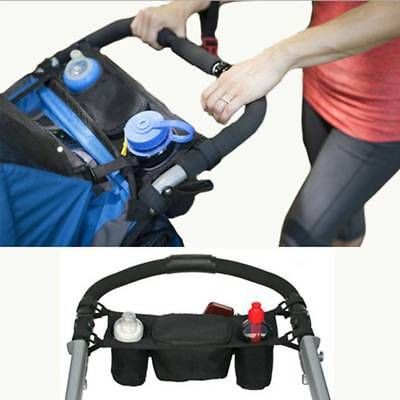 Baby Stroller Storage Bag Cup Bottle Diaper Holder Buggy Carriage Pram Organizer