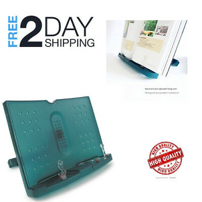 Reading Book Stand Adjustable and Portable Document Holder For Desk Easy To Use