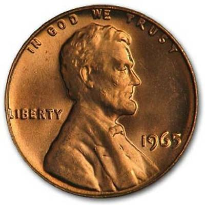 Bu Roll Of 1965-P Cents
