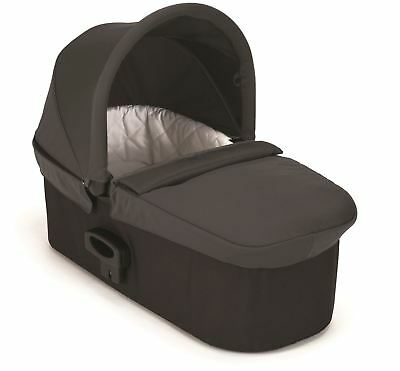 Baby Jogger DELUXE PRAM CARRYCOT CHARCOAL DENIM Pushchair Buggy Accessory BN
