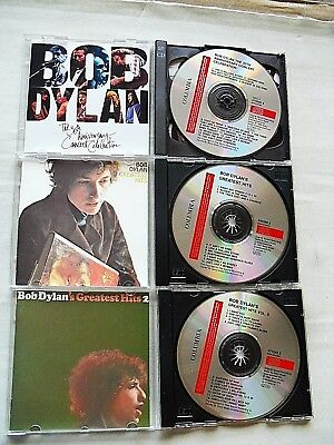 BOB DYLAN ‎– 3 CD`s: Greatest Hits I & II und the 30th Aniversary Concert.......