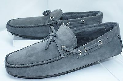 63389ba2600 NEW BALLY MEN S Shoes Blue Loafers Dramer Size 11 Drivers Suede Sale ...