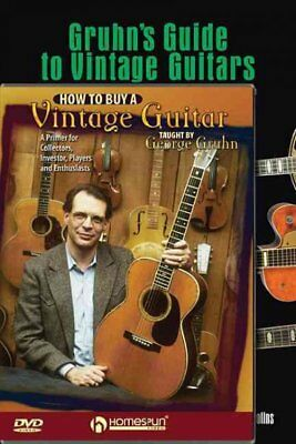 Gruhn's Guide to Vintage Guitars / How to Buy a Vintage Guitar, Hardcover by ...