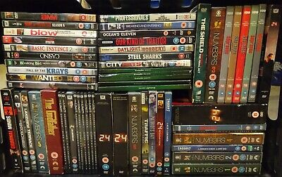 Job Lot Collection/Bundle of DVD Box Sets, Some Complete Series #11002