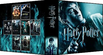 HARRY POTTER COLLECTION Custom 3-Ring Binder Photo Trading Card Album