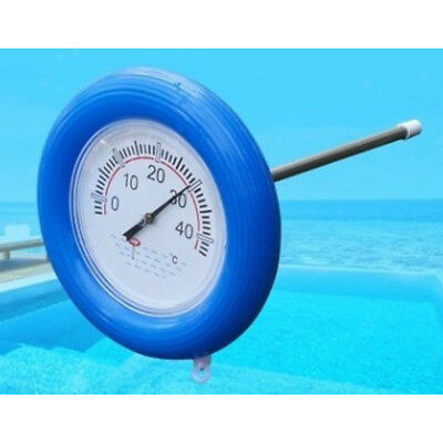 Durable Floating Pool Thermometer For Swimming Pool Hot Tub 40℃ Max Round