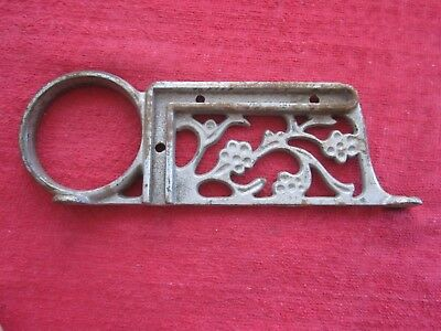 "Vintage Antique 8"" Ornate Cast Iron Bracket"