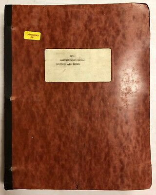 Eastern Airlines  DC 3 Maintenance Manual 1938 Copy