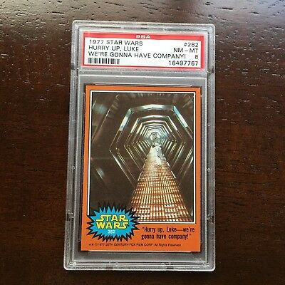 1977 Star Wars Sticker 49 Luke The Star Warrior Psa 8 Nm Mt Pop 18