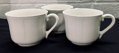 Set of 3 Harmony House Ironstone Federalist Cups