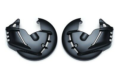 Honda GL 1800 Goldwing & GL1800 F6B - BLACK front brake rotor/disc covers