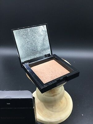 Bareminerals Invisible Bronze Powder TAN Baked Bronzer 0.24 Oz Smudged? READ