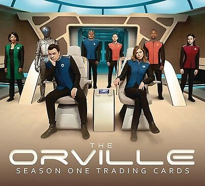The Orville Season One Trading Cards - 12 Box Case - 24 Packs Per Box