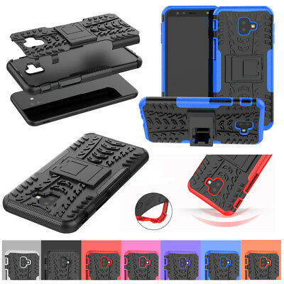 For Samsung Galaxy A7 A9 Star J2 Core J4 J6 Plus J7 2018 Hard Stand Case Cover