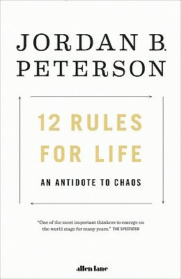 12 Rules for Life : An Antidote to Chaos Paperback Book Brand New Free Shipping