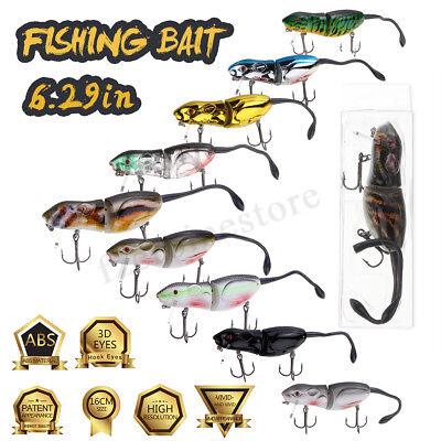 Savage Gear 3D Rad Rat Lures Artificial Fishing Bait With Hooks Fishing Tackle