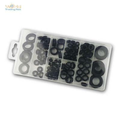 Rubber Grommets Assorted 110 Pcs, Cable Grommet,Cable Routing, Rubber Grommets