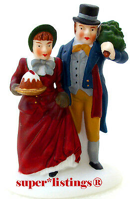 Dept. 56 Christmas Carol Holiday Mr. & Mrs. Bob Cratchit Retired Dickens 58319