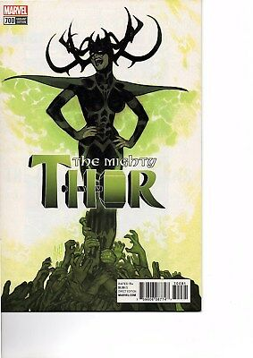 The Mighty Thor # 700 Nm 1:100 Adam Hughes Variant Legacy 2018