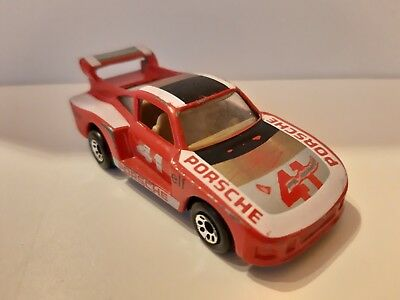 Red Matchbox Superfast 41e Porsche 935 Racing Mint//Boxed