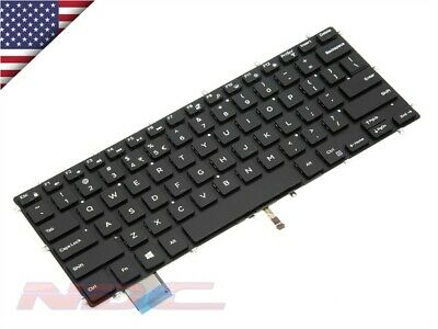 New Genuine Dell Alienware 14 Arabic US Backlit Windows 8 Keyboard 0W7T3C
