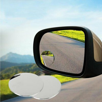 Small Round Mirror Car Rearview Mirror 360 degree Blind Spot Wide-angle Lens RY