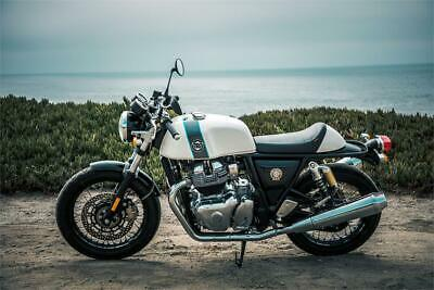 Royal enfield continental gt 650 custom bianca