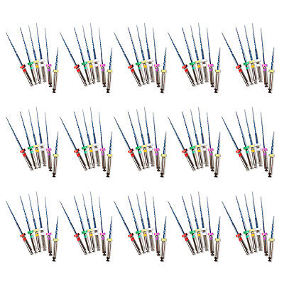 90 Pcs Dental Endodontic Rotary Universal Endo Motor Root Canal NiTi Files 25MM