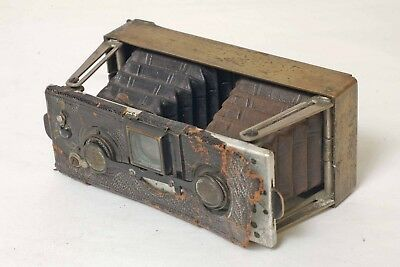 F90096~ Unusual Murer Duroni Stereo SL Special Camera –Italy Made- Poor Conditio