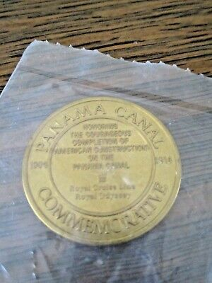 Panama Canal Commemorative Coin 1904-1914 NIP