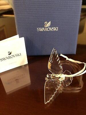 Swarovski Crystal Peace Dove Ornament  2018 Holiday Christmas 5403313 New! Box!