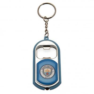 Manchester City F.C. Key Ring Torch Bottle Opener (football club souvenirs memor