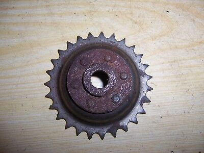 Vintage BSA twin A10 A7 Superrocket dynamo drive gear