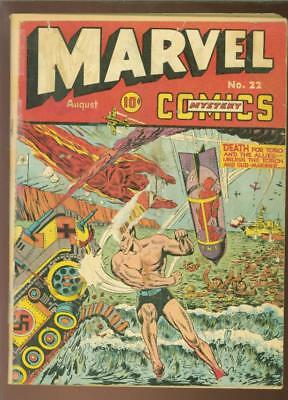 Marvel Mystery#22Incomplete1941   Pages Missing