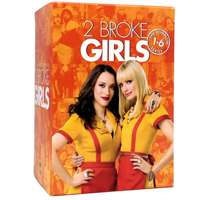 2 Broke Girls: The Complete Series (DVD, 2017,17-Discs)