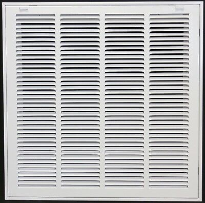 "8"" x 10"" Steel Return Air Filter Grill for 1"" Filter - Removable Face/Doo... New"