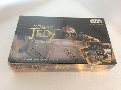 Star Wars Young Jedi CCG Boonta Eve Podrace Sealed Booster Box