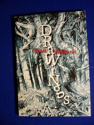 Drawings David Hitchcock, Gothic horror & glamour  Limited (#36 of 100). VFN/NM.