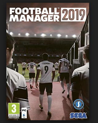 PC FOOTBALL MANAGER 2019 CHAIVE Steam - Invio Key solo via email Italiano NUOVO