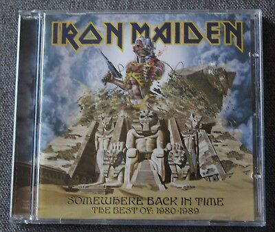 Iron Maiden, somewhere back in time - the best of 1980 - 1989, CD