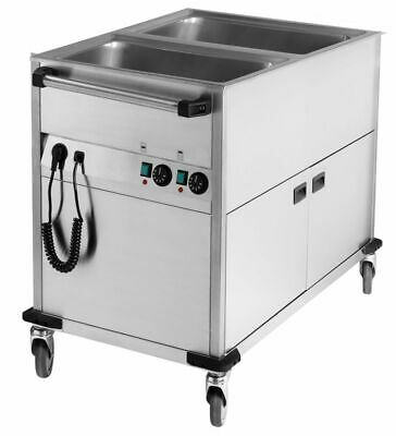 Bain Marie Wagon, 650x900x900 mm, Heated Base Unit, Water Bath Speisenwärme