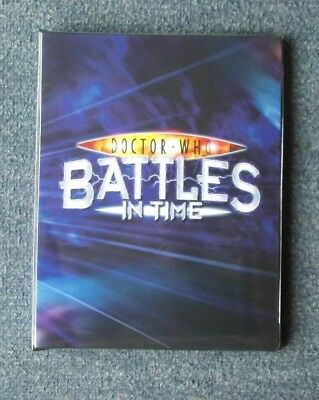 Doctor Who Battles in Time Complete 275 Card Exterminator Set in Official Album
