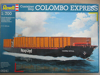 Revell , Nr. 05241 , Container Ship COLOMBO EXPRESS , 1:700 , Länge 47,9 cm OVP!