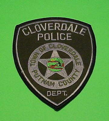 Cloverdale  Indiana  In  Putnam County  Type 2  Police Patch   Free Shipping!!!