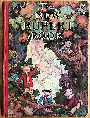 RUPERT BEAR ANNUAL 1938 ORIGINAL Neatly Inscribed SOUND VG EXAMPLE
